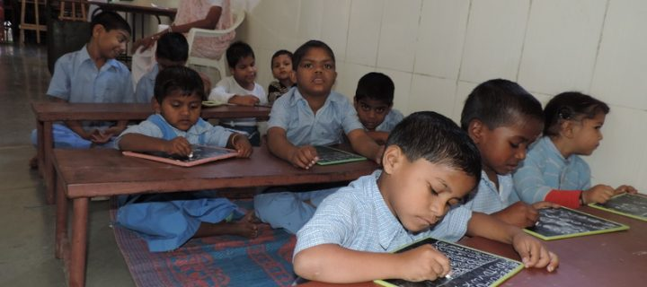 Differently Able Kids at Sewadham Ashram